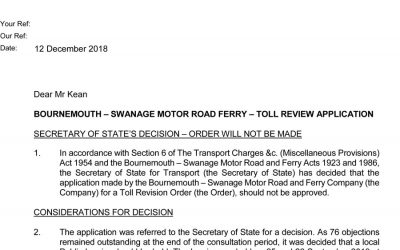 Ferry Decision Letter