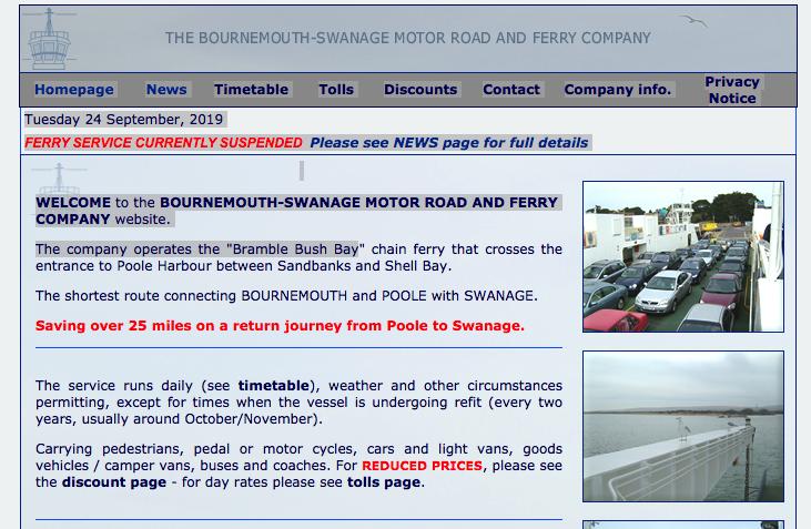 Ferry Company News